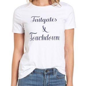 Draper James Tailgates & Touchdowns Tee SMALL